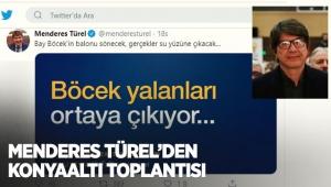 Menderes Türel'den Konyaaltı toplantısı