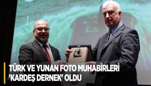 Türk ve Yunan foto muhabirleri 'kardeş dernek' oldu