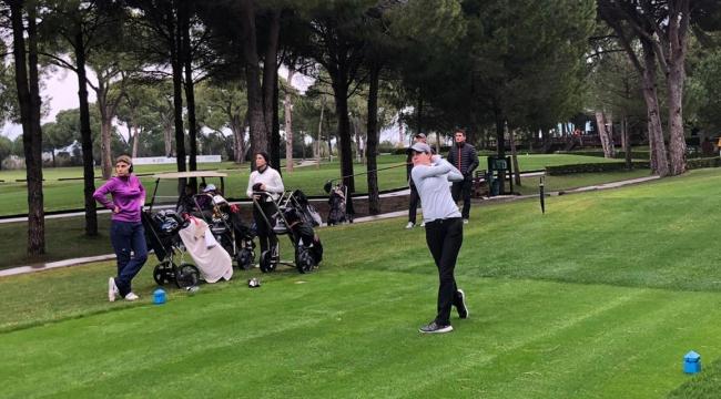 Türkiye Golf Turu'nda 3'üncü ayak sürüyor