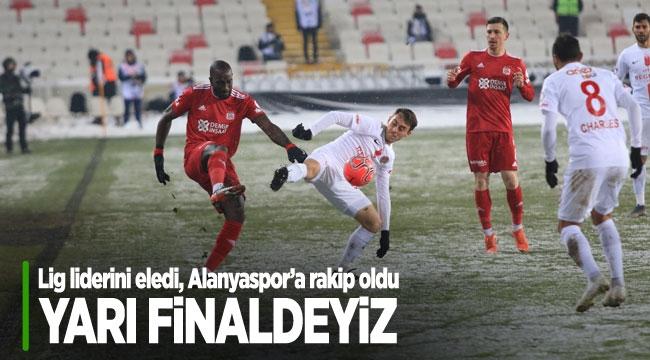 YARI FİNALDEYİZ