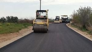 Altyapı çalışması biten yollarda asfaltlama