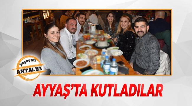 Ayyaş'ta kutladılar