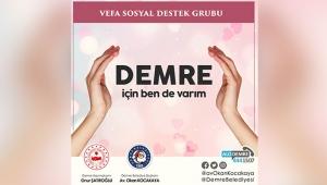 'Demre için ben de varım' kampanyası