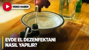 Evde el dezenfektanı nasıl yapılır? İşte tarifi!