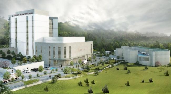 Kumluca Devlet Hastanesi büyüyor
