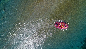 Rafting botları depoda kaldı