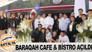 Baraqah Cafe & Bistro açıldı