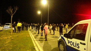 Dansözlü drift partisine polis baskını: 51 kişiye ceza
