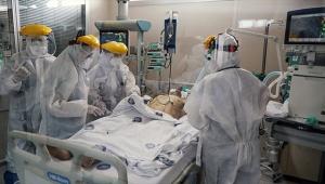 Kahramanların koronavirüsle 'yoğun' mücadelesi