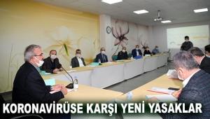 Koronavirüse karşı yeni yasaklar