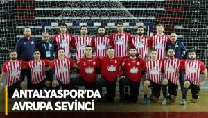 Antalyaspor'da Avrupa sevinci