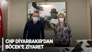 CHP Diyarbakır'dan Böcek'e ziyaret