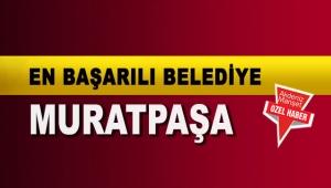 En başarılı belediye Muratpaşa