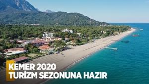 Kemer 2020 turizm sezonuna hazır