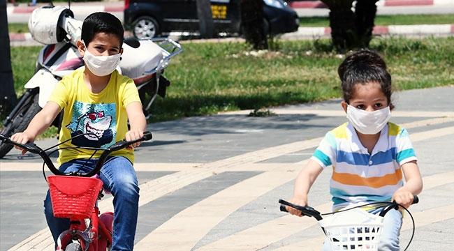 Konyaaltı'nda sokaklar çocuk sesleriyle şenlendi