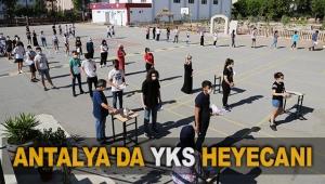 Antalya'da YKS heyecanı