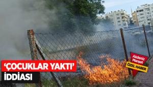 'Çocuklar yaktı' iddiası