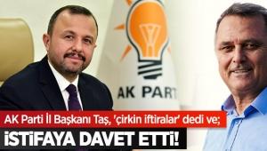 İSTİFAYA DAVET ETTİ!