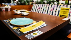 Kafede karekodla 'temassız sipariş' dönemi