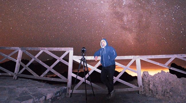 Türk astrofotoğrafçının fotoğrafı, 'En İyi 25 Samanyolu Fotoğrafları' arasında