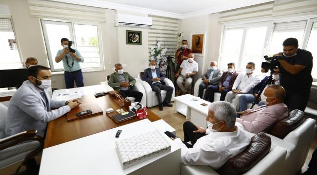 Ulualan Platformu'ndan siyasi partilere ziyaret