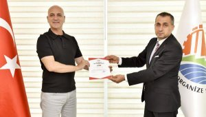 Antalya OSB, Covid-19 belgesi aldı