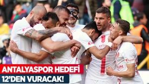 ANTALYASPOR HEDEFİ 12'DEN VURACAK!
