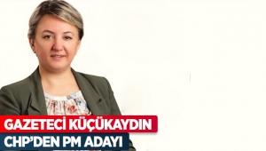 Gazeteci Küçükaydın CHP'den PM adayı