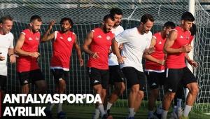 Antalyaspor'da ayrılık