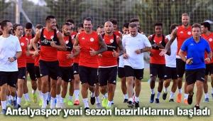Antalyaspor yeni sezon hazırlıklarına başladı