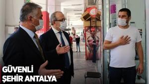 Güvenli şehir Antalya