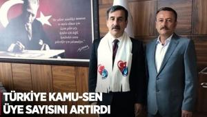 Türkiye Kamu-Sen üye sayısını artırdı