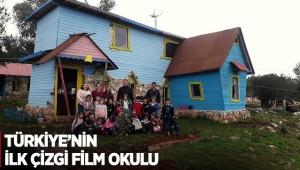Türkiye'nin ilk çizgi film okulu