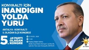 AK Parti Konyaaltı'nda kongre heyecanı