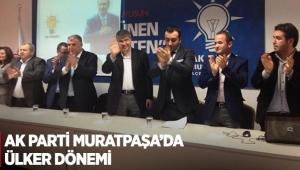 AK Parti Muratpaşa'da Ülker dönemi