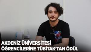 Akdeniz Üniversitesi öğrencilerine TÜBİTAK'tan ödül