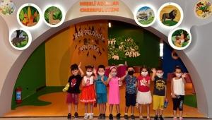 Antalya Bilim Merkezi'ni kreş öğrencileri test etti