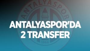 Antalyaspor'da 2 transfer