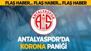 Antalyaspor'da korona paniği