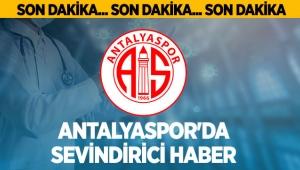Antalyaspor'da sevindirici haber