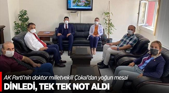 DİNLEDİ, TEK TEK NOT ALDI