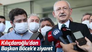 Kılıçdaroğlu'dan Başkan Böcek'e ziyaret