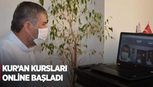 Kur'an kursları online başladı