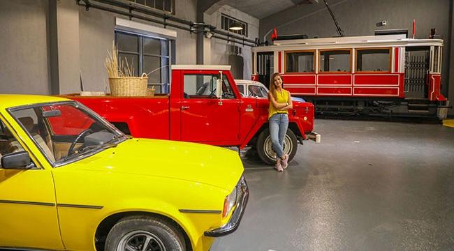 Nostaljik araçlar, açılışı bekliyor