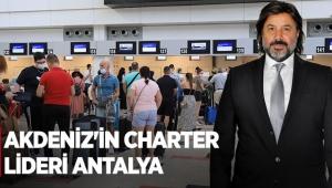 Akdeniz'in charter lideri Antalya