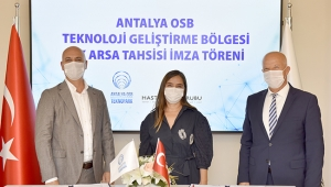 Antalya OSB Teknopark'ta ilk firma kabulü