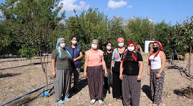 Çiftçi kadınlara destek