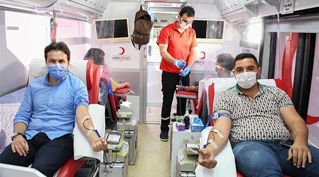 Demre'de kan bağışı