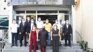 İYİ Parti'den Topaloğlu'na ziyaret