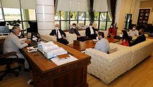 MHP'den Başkan Sözen'e ziyaret